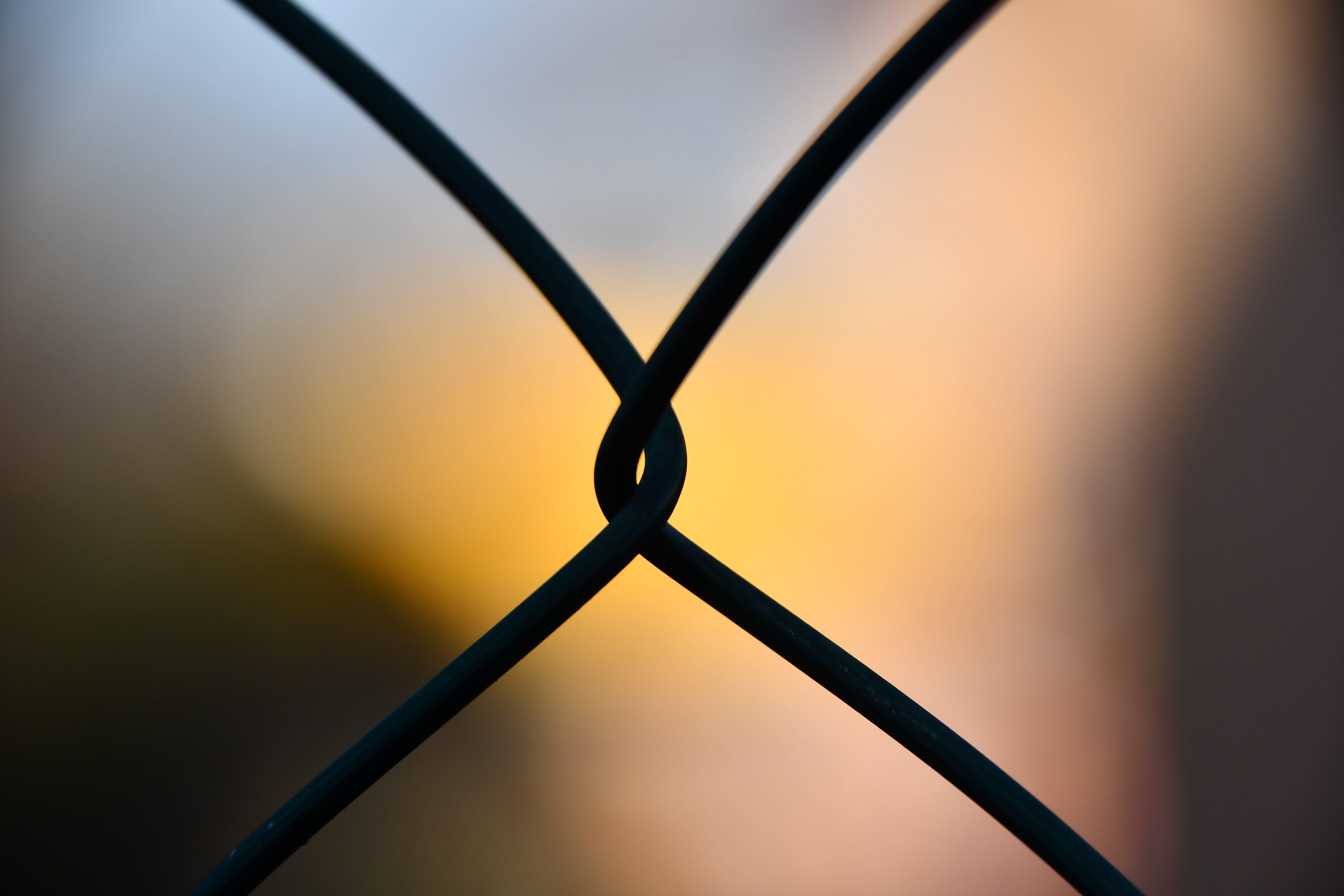 คลังภาพถ่ายฟรี ของ กั้นรั้ว, ตะวันลับฟ้า, พร่ามัว, พื้นหลังเบลอ