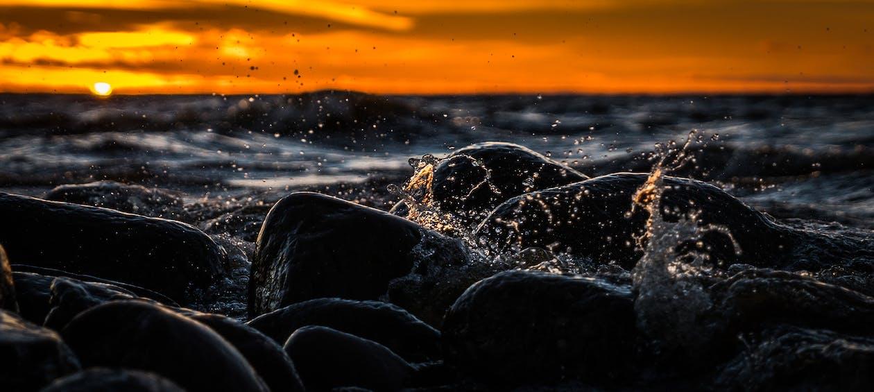 cákání, kámen, kameny