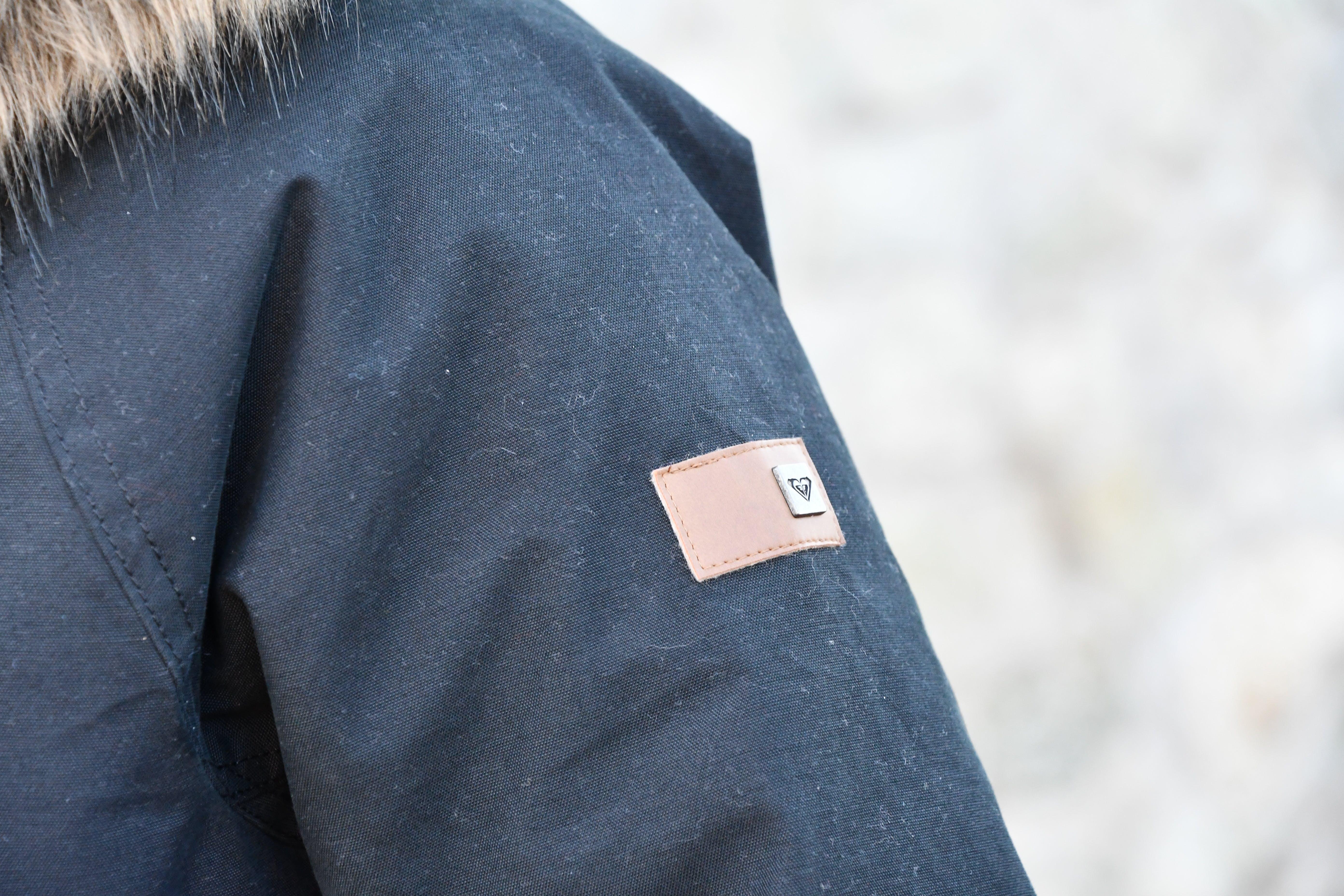 Free stock photo of black, black jacket, clothes, fur