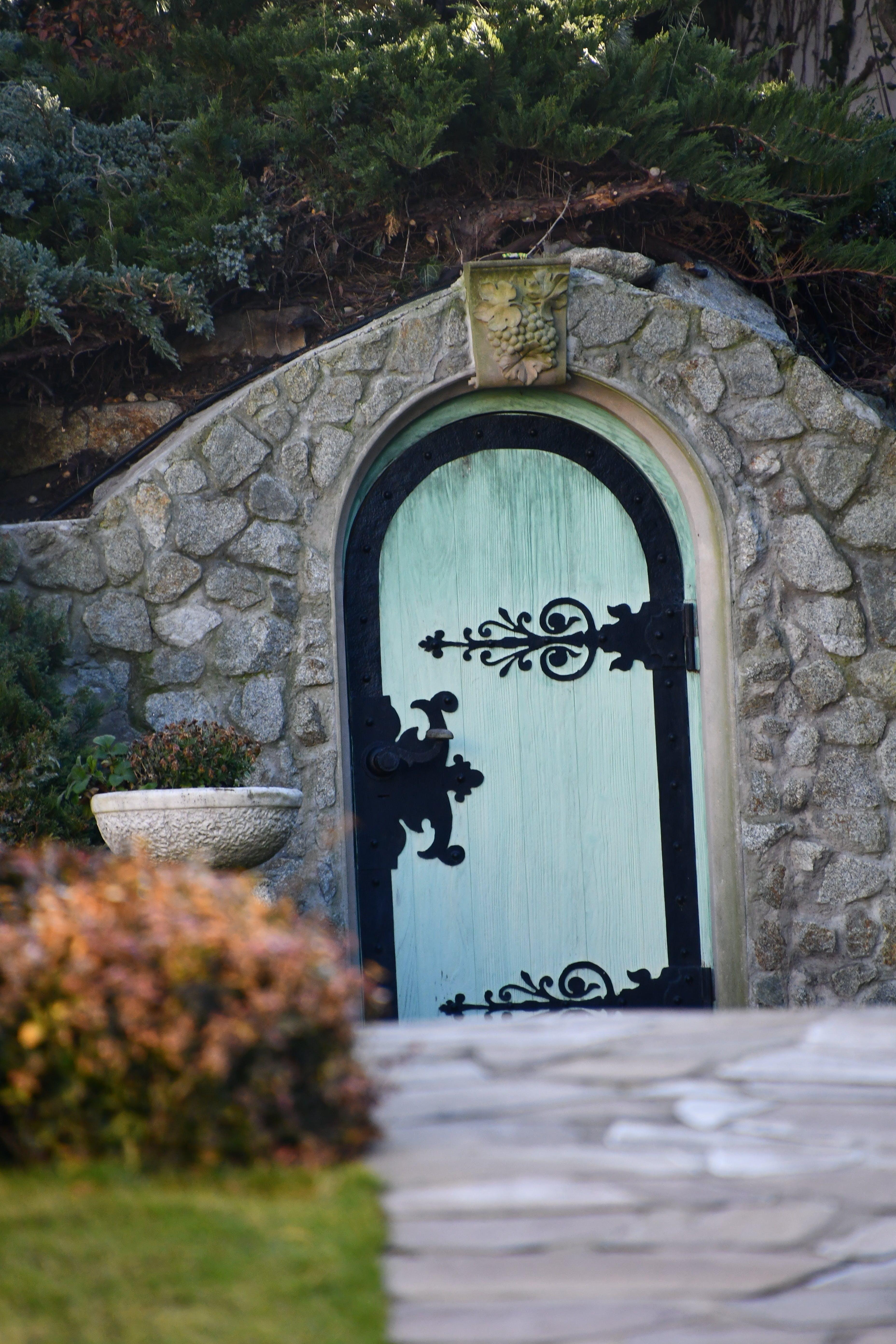 Free stock photo of blue, blue door, door, fairy tale