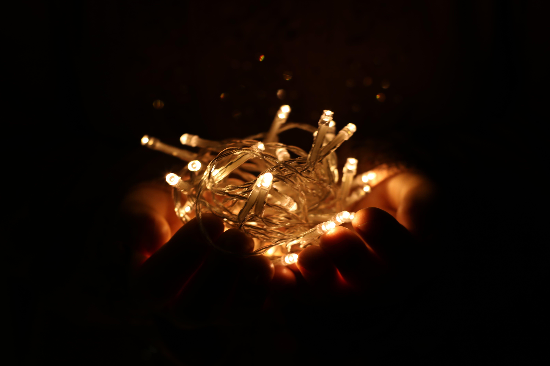 Ingyenes stockfotó éjszaka, elmosódott háttér, fények, fényfüzér témában