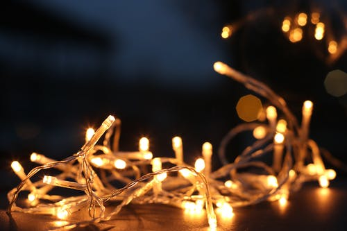 Yellow String Lights