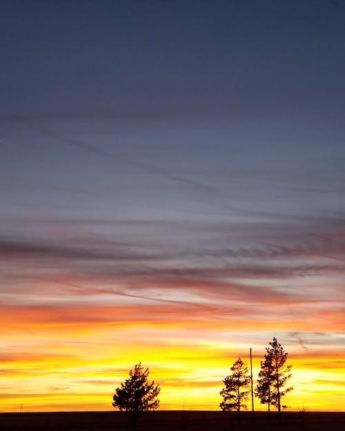 Безкоштовне стокове фото на тему «#sunset #fire #greatplains #kansas»