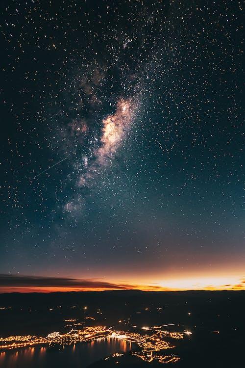 คลังภาพถ่ายฟรี ของ astrophotography, nightime, การถ่ายภาพกลางคืน