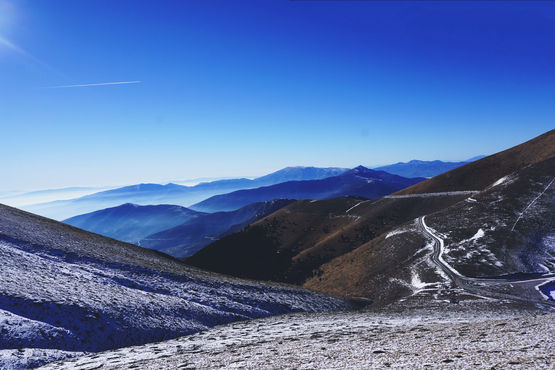 Free stock photo of falakro, greece, mountain, winter
