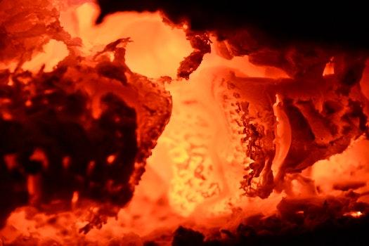 Free stock photo of wood, fire, orange, fireplace