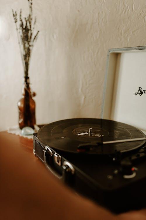 Immagine gratuita di classico, disco in vinile, interni