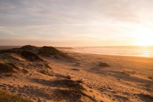 Photos gratuites de coucher de soleil, dune, océan, paysage