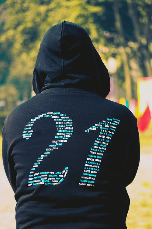 Free stock photo of alphabets, back view, backside