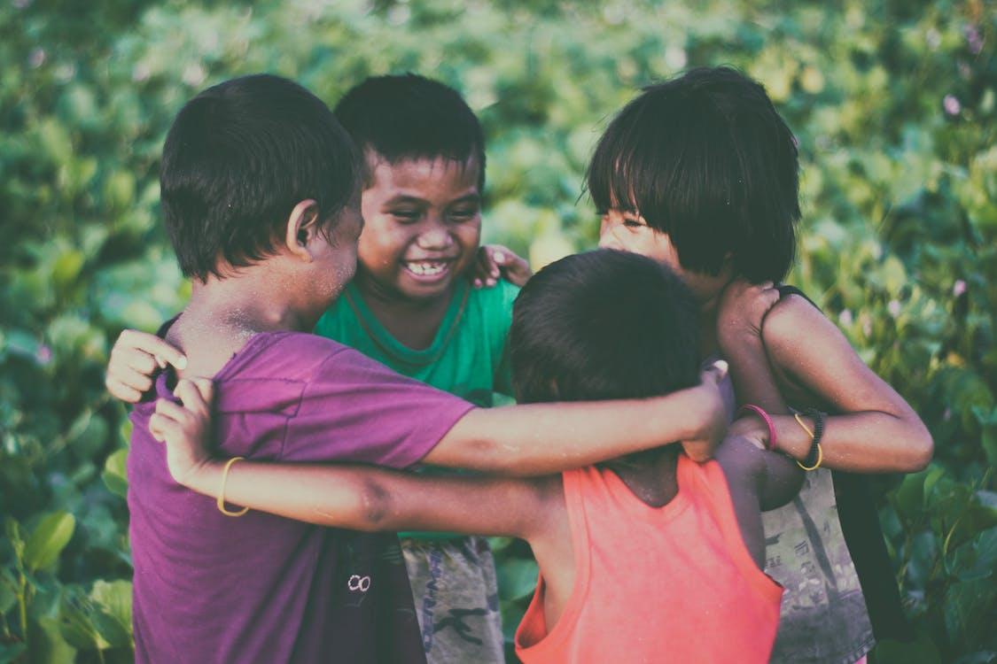 dzieci, dzieciństwo, grupa