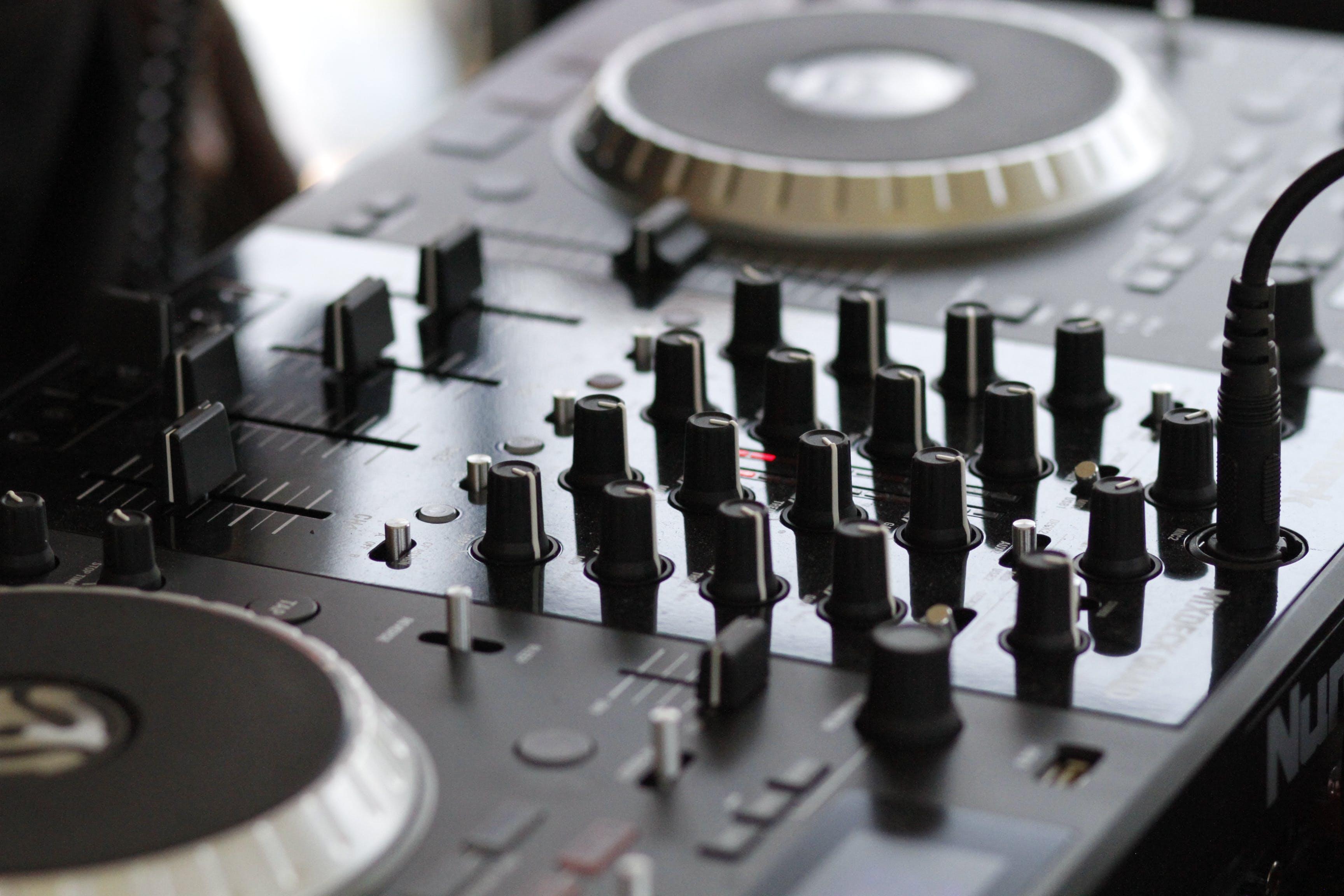Kostenloses Stock Foto zu audio, audio-mixer, ausrüstung, controller
