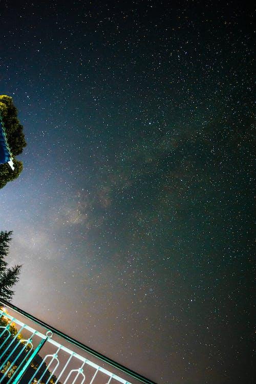 Δωρεάν στοκ φωτογραφιών με galaxy, αστέρι, Νύχτα, νυχτερινή φωτογραφία