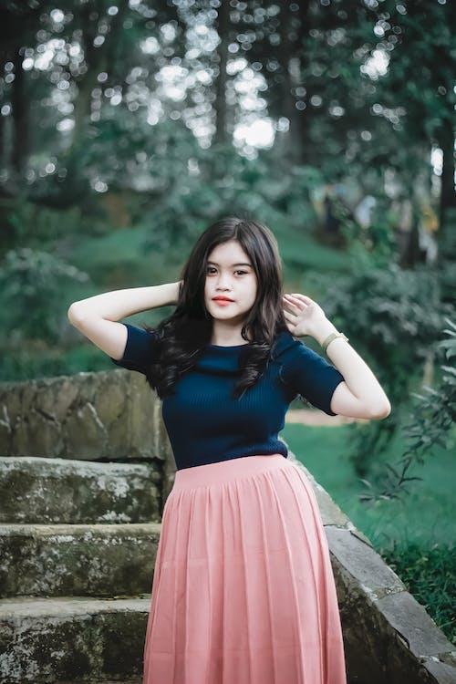Gratis stockfoto met Aziatische vrouw, fotomodel, houding