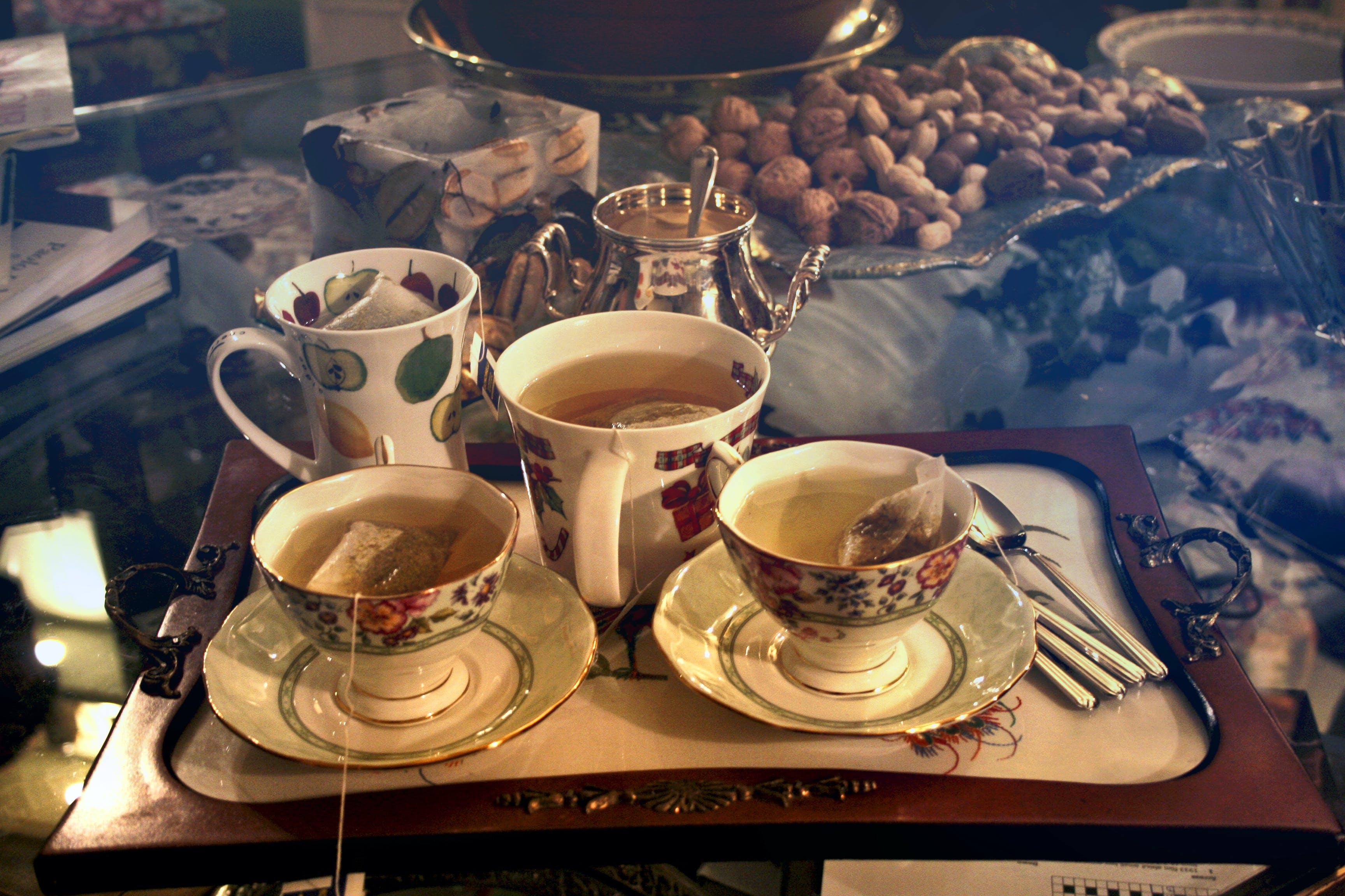 Kostenloses Stock Foto zu besteck, erfrischungen, farbe, frühstück