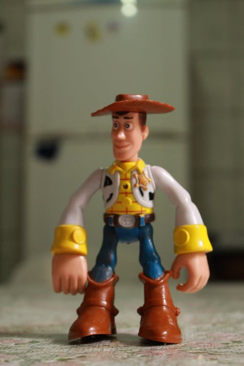 Free stock photo of boots, cowboy, doll