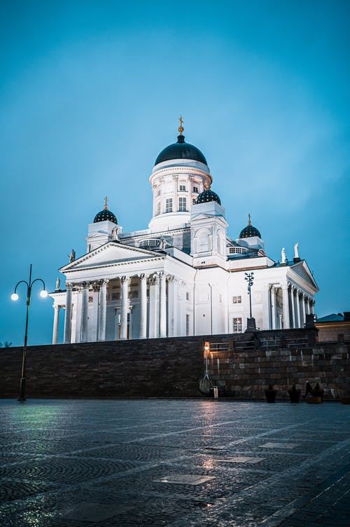 The Famous Helsinki Cathedral in Finland