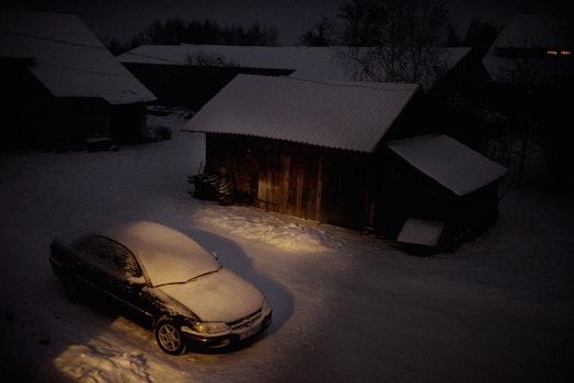 Free stock photo of snow, night, nikon, omega