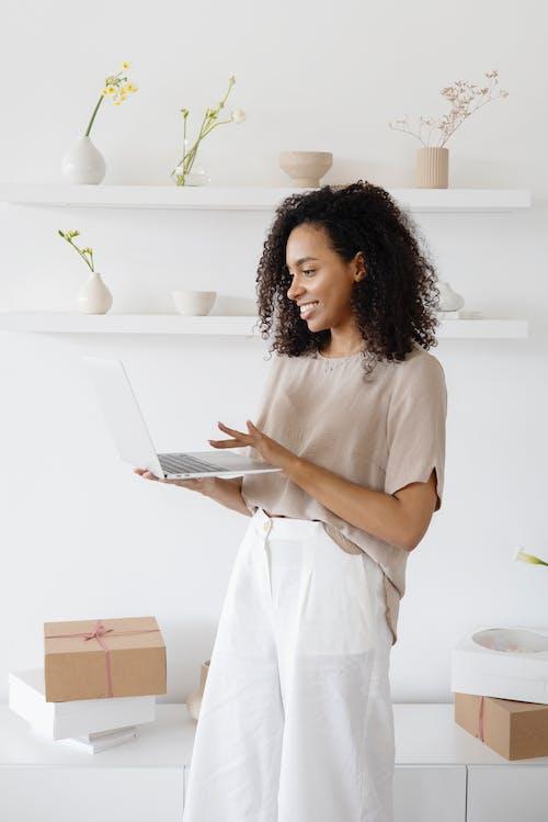 Photos gratuites de blanc, business woman, businesswoman