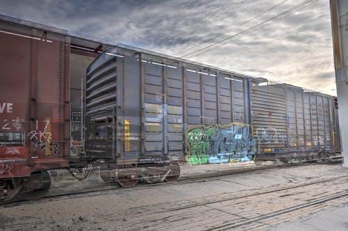 HDR, 기관차, 기차의 무료 스톡 사진