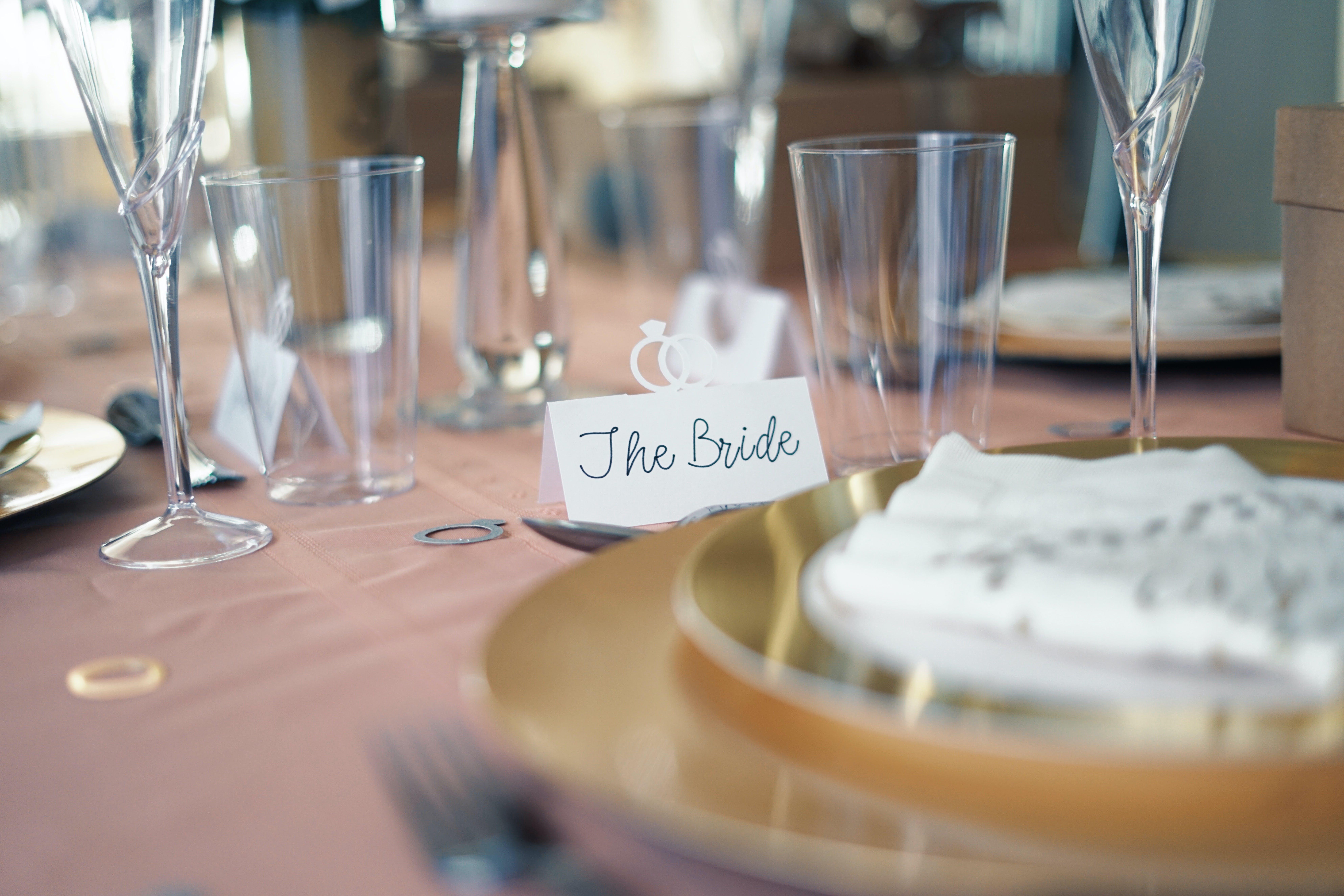 The Bride Flaglet Miniature
