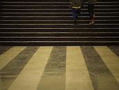 stairs, people, legs