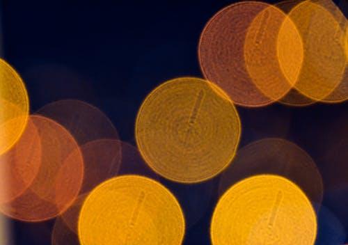 Gratis lagerfoto af byens lys, luftslør, natlys