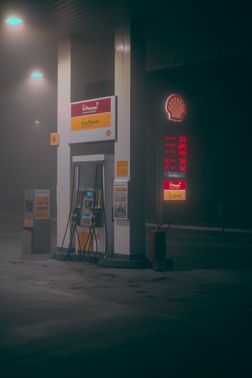 Darmowe zdjęcie z galerii z dystrybutor paliwa, na dworze, na zewnątrz