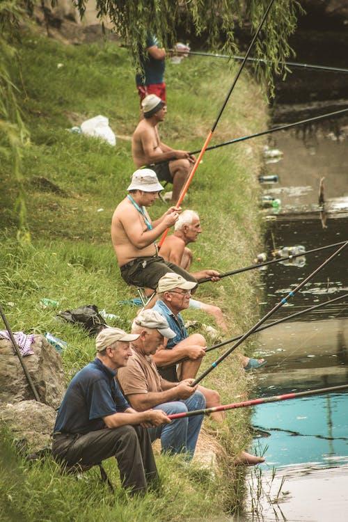 Безкоштовне стокове фото на тему «літо, Природа, рибалки, Риболовля»