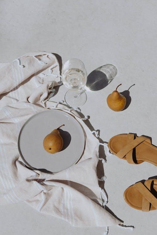Základová fotografie zdarma na téma bílá, citrusový, deka