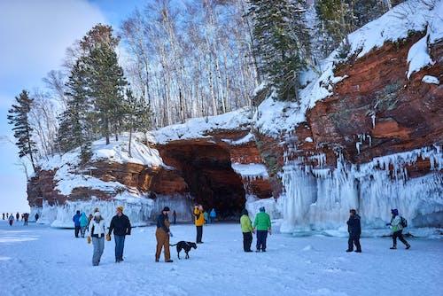 Immagine gratuita di ice caves, lago ghiacciato