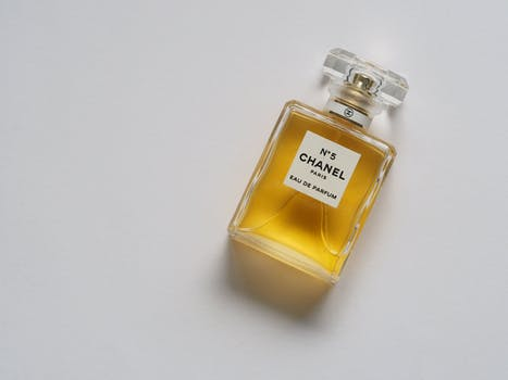 Chanel Paris Eua De Parfum Bottle
