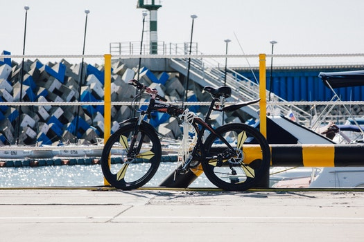 Black Rigid Bike