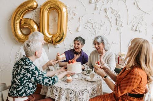 Women Celebrating a Birthday