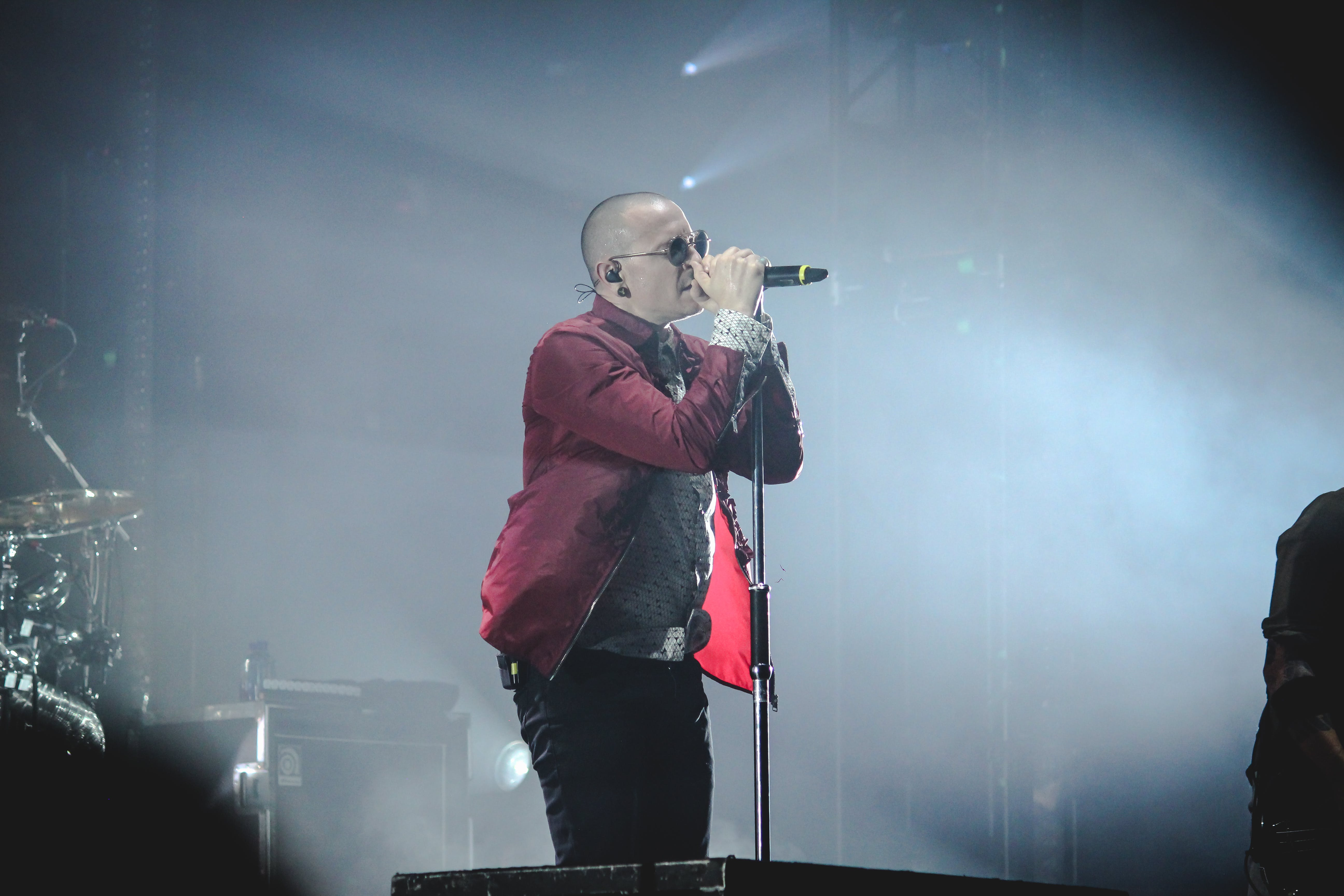 Free stock photo of chester bennington, concert, linkin park, live