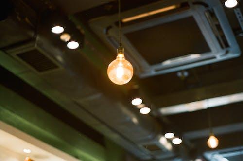 Free stock photo of café, inspiration, light bulb