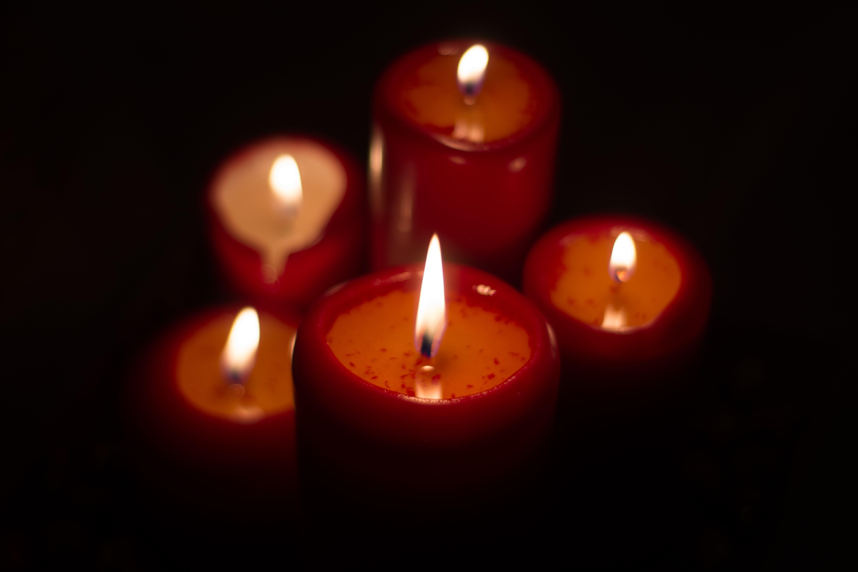 Free stock photo of candles, christmas, xmas