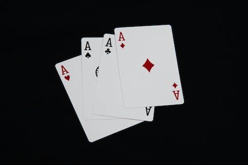 Free stock photo of ace, bet, black