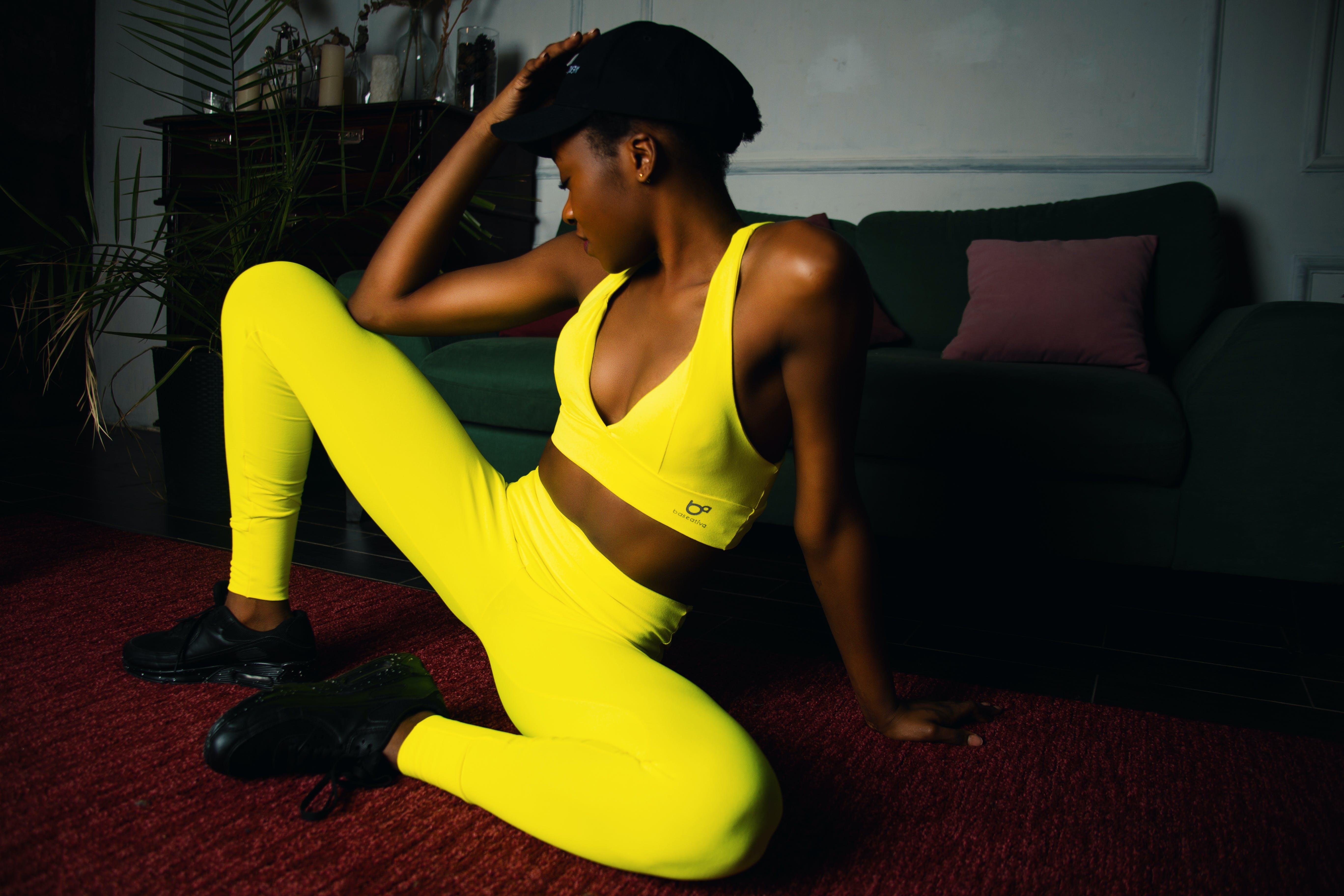 Free stock photo of model, neon, sportswear, sexy