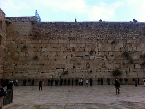 Free stock photo of the wailing wall