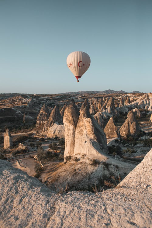 Free stock photo of adventure, arid, cappadocia