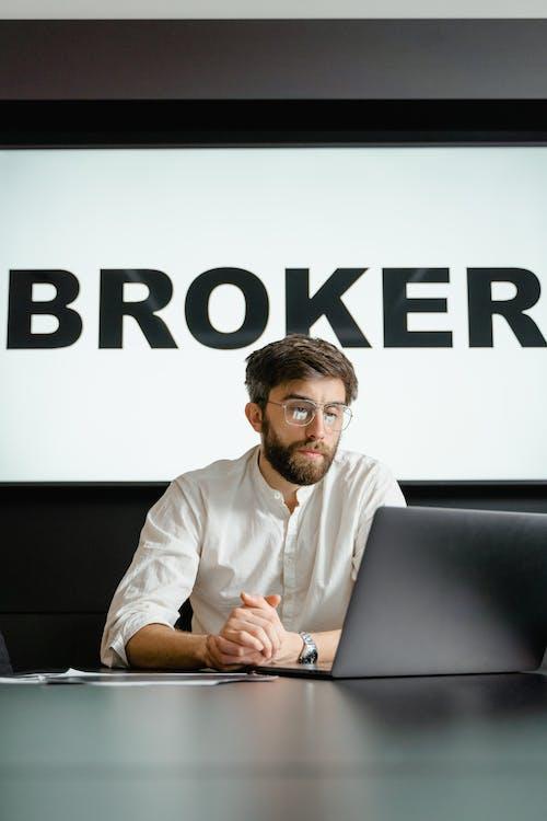 Immagine gratuita di agente, borsa, broker