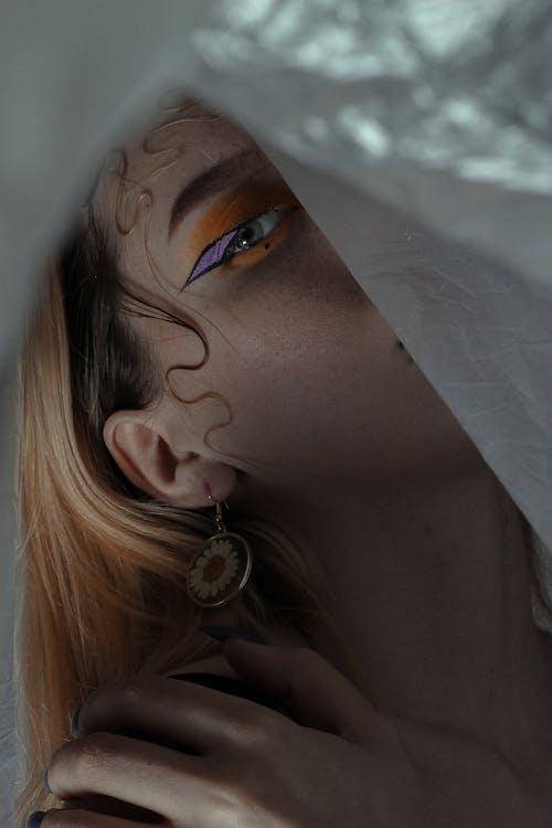 Free stock photo of adult, beautiful, eye