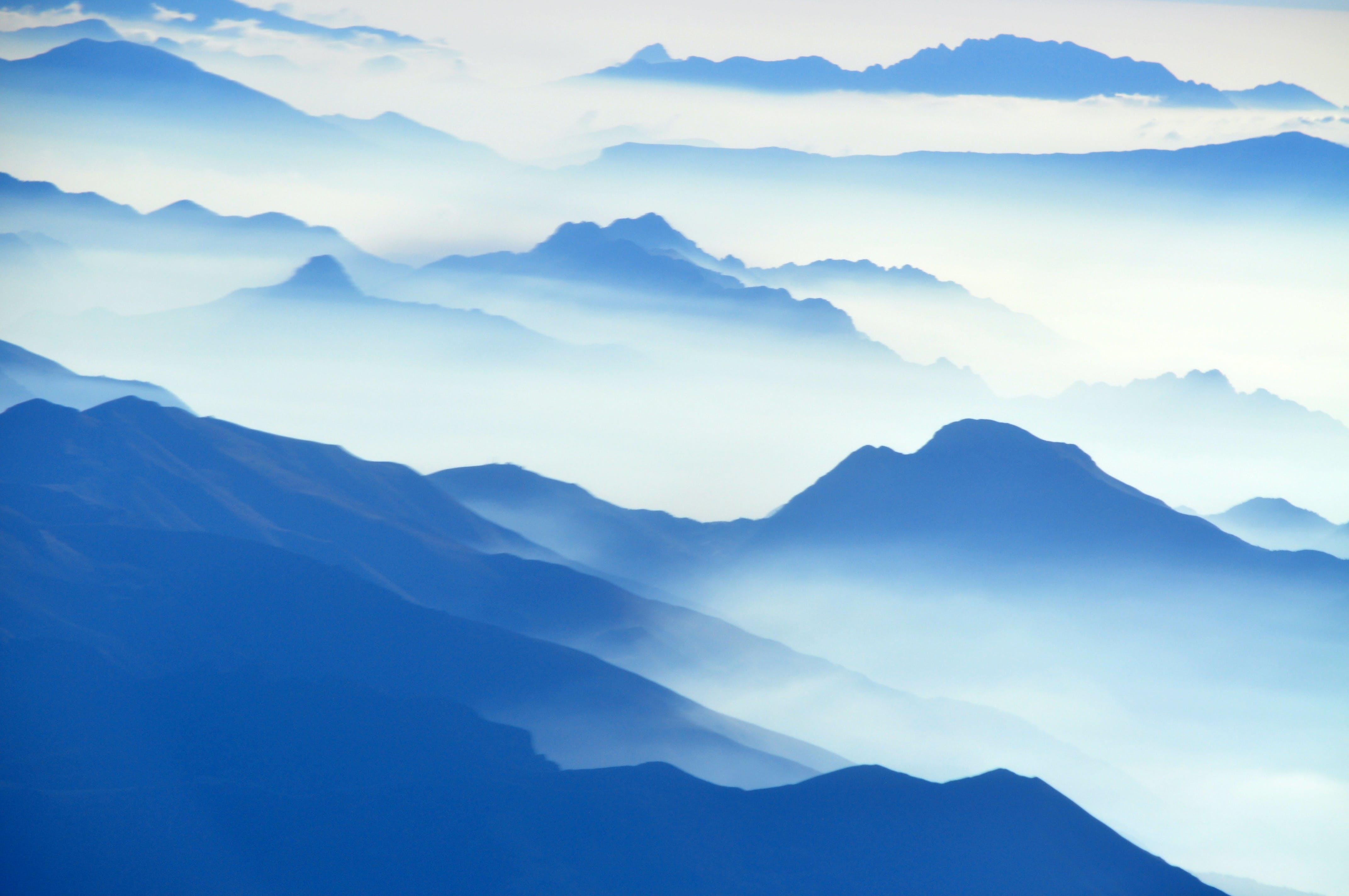 Imagine de stoc gratuită din aerian, albastru, ceață, cețos