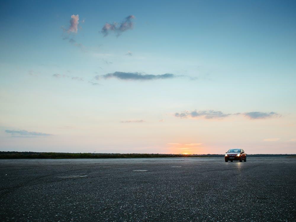 Free stock photo of airport, asphalt, car