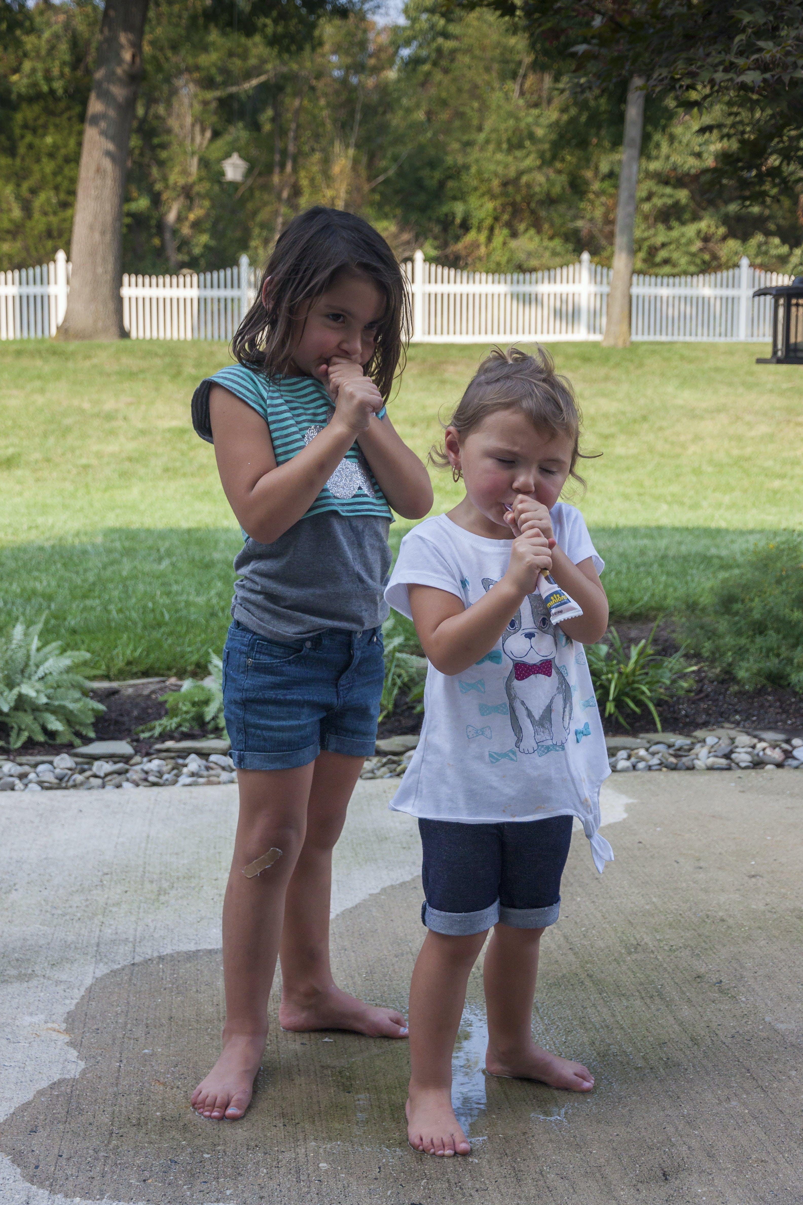 Free stock photo of little girls