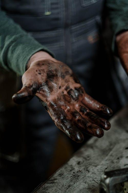 Kostnadsfri bild av fett, fingrar, hand