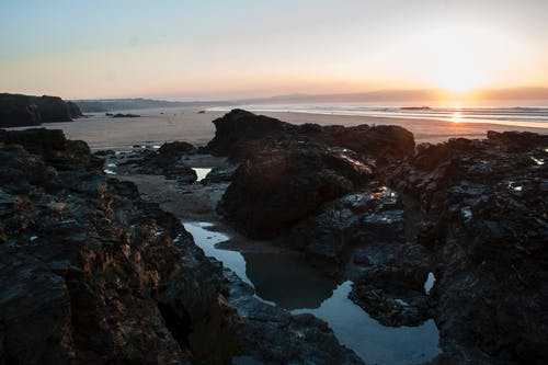 Free stock photo of beach, cornwall, stones