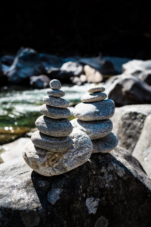 Immagine gratuita di arte, ometti di roccia, pace