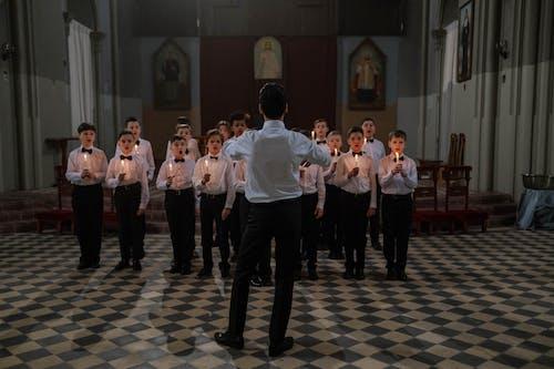 คลังภาพถ่ายฟรี ของ chorale, กลุ่ม, การดำเนิน
