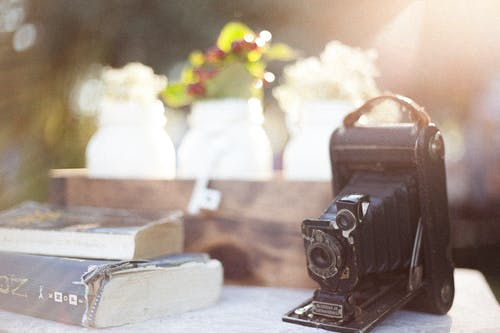 Free stock photo of old style, vintage, vintage camera